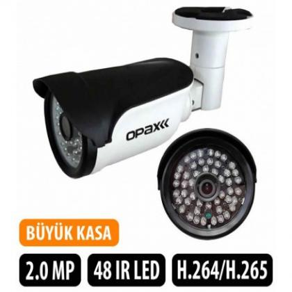OPAX-48307 2 MP SONY IMX307 1080P H.265 3.6mm Lens 48 IR Led IP Bullet Kamera