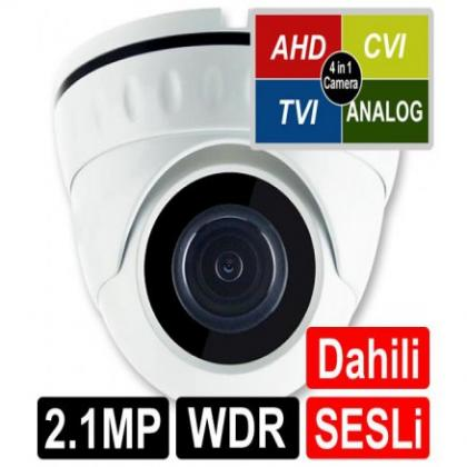 OPAX-1122 2 MP 1080P 4 in 1 HD 3.6mm Lens 18